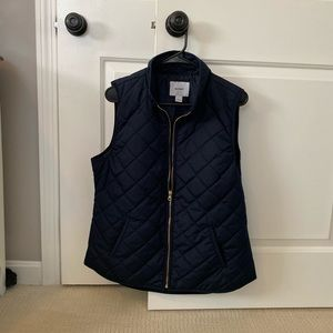 Old Navy Jackets & Coats - Old Navy Quilted Navy Vest